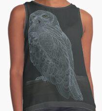 Snowy Owl Sleeveless Top
