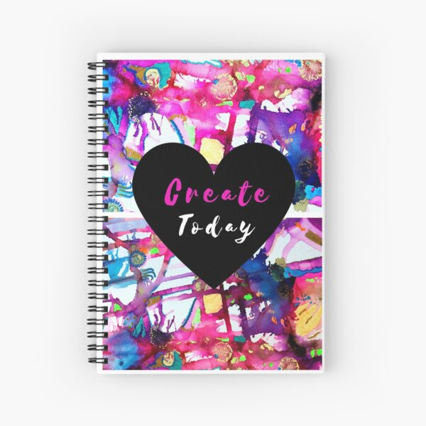 Create Today Spiral Notebook