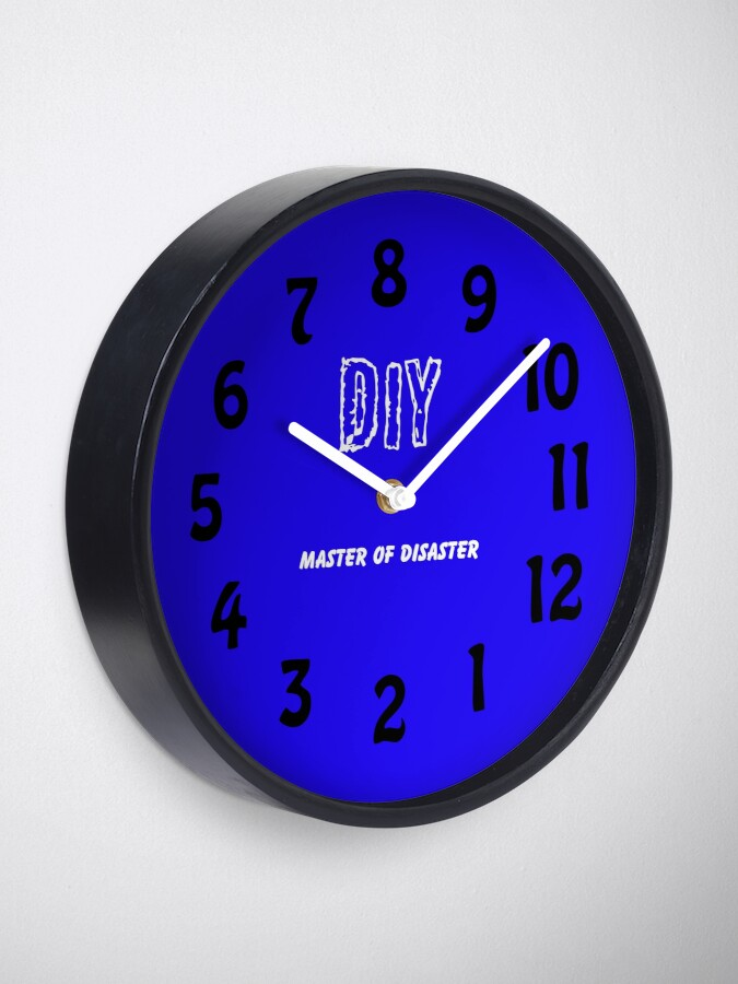 Alternative Ansicht von DIY Master of Disaster Uhr Uhr