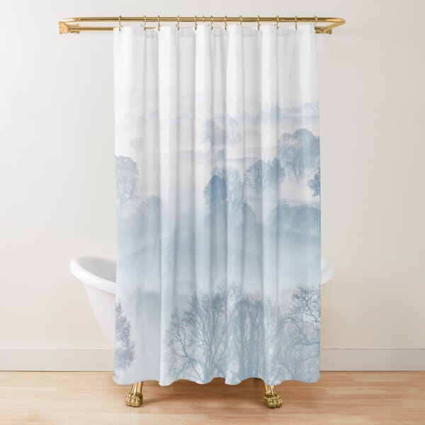 Sound Of Silence Shower Curtain