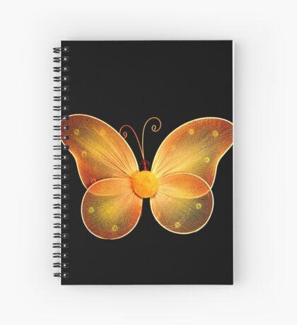 Butterfly Art Spiral Notebook
