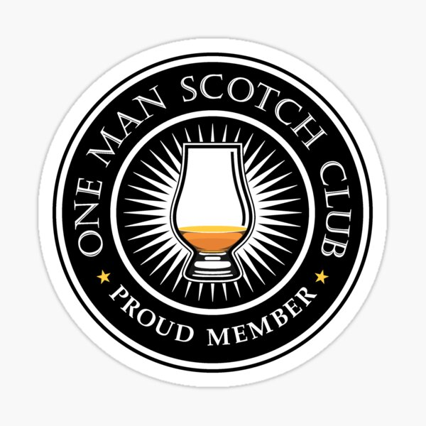 Membre fier / Scotch Club Sticker