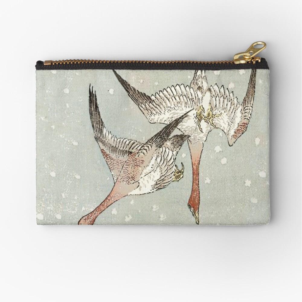Snow Geese Zipper Pouch