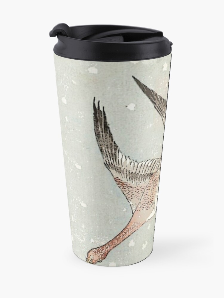 Alternate view of Snow Geese Travel Mug