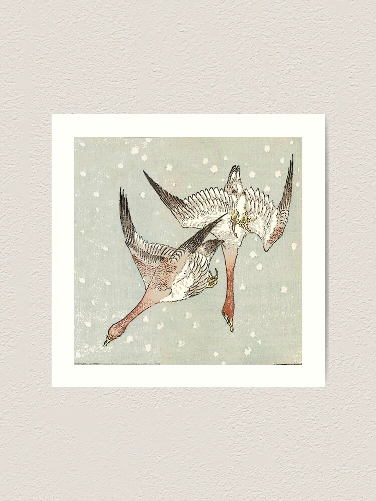 Alternate view of Snow Geese Art Print
