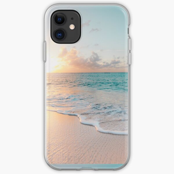Tropical Clear Ocean  iPhone Soft Case