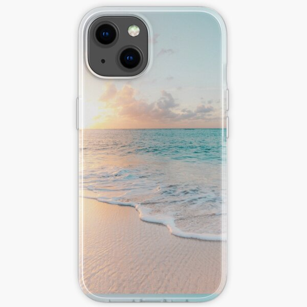 Tropical Clear Ocean  iPhone Soft Case