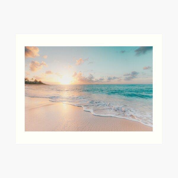Tropical Clear Ocean  Art Print