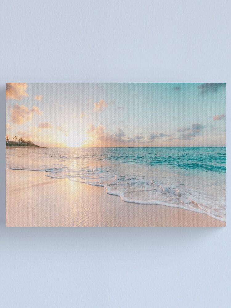 Alternate view of Tropical Clear Ocean  Canvas Print