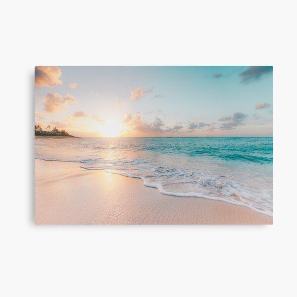 Tropical Clear Ocean  Canvas Print