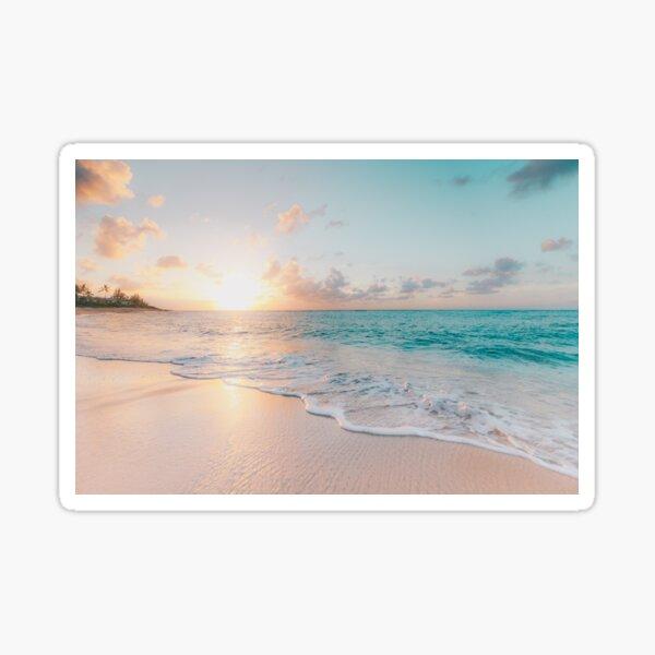Tropical Clear Ocean  Sticker