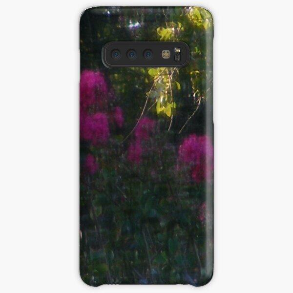 Purple Crepe Myrtles Samsung Galaxy Snap Case