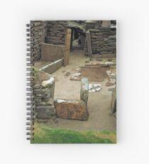 Skara Brae 1 Spiral Notebook