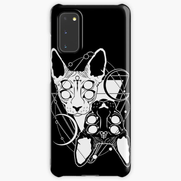 Sphynx cats with ankh and Leviathan cross symbols Samsung Galaxy Snap Case