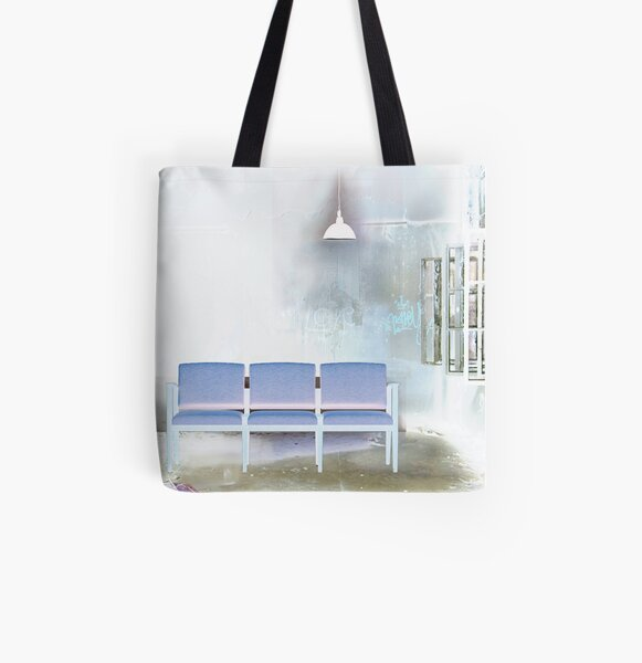 The Waiting Room All Over Print Tote Bag