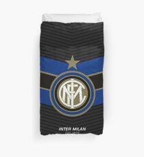 Inter Milan   est 1908   Logo Design - Pillow   Phone Case   Tablet   T Shirt   Duvet   Mug   Clock   Poster   Home Decor and more Duvet Cover