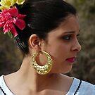 Folklorico Dancer by Linda Gregory