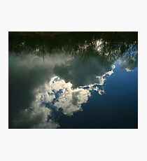 Cloud Reflection Photographic Print