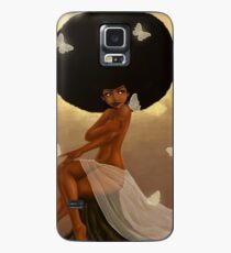 Fro and Butterflies Case/Skin for Samsung Galaxy