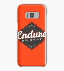 Endure and Survive - The Last of Us Samsung Galaxy Case/Skin