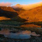 Llyn Llydaw and Snowdon, Snowdonia North Wales by Cliff Williams