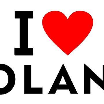 I love Poland by tony4urban