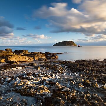 Penmon Point gets hit by light, Anglesey North Wales by cliff449