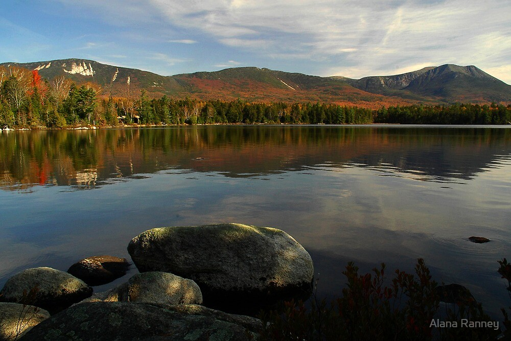 A view from Kidney Pond, Baxter SP by Alana Ranney