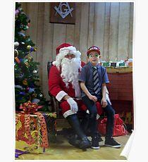 Alki Lodge Santa 2293 Poster