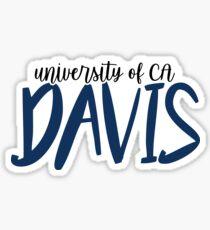 Universität von Kalifornien - Davis Sticker