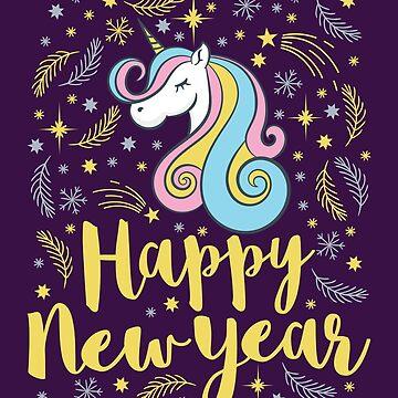 Happy New Year Unicorn by jaygo
