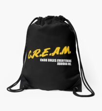 CREAM_dare Drawstring Bag