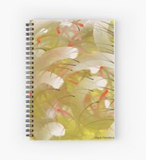 Japanese Flowers (hi-Res) Spiral Notebook