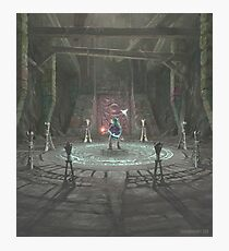 The Shadow Temple Photographic Print