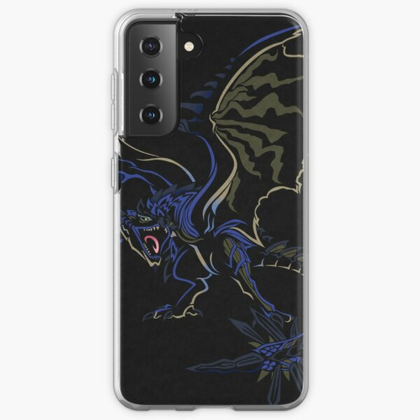 Azure Rathalos - Monster Hunter World Samsung Galaxy Soft Case