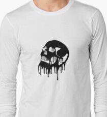 Dripping Skull Long Sleeve T-Shirt