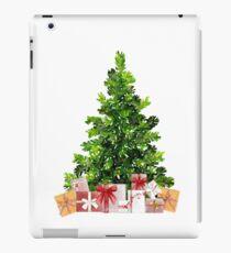 Pine Christmas Tree with Presents iPad Case/Skin