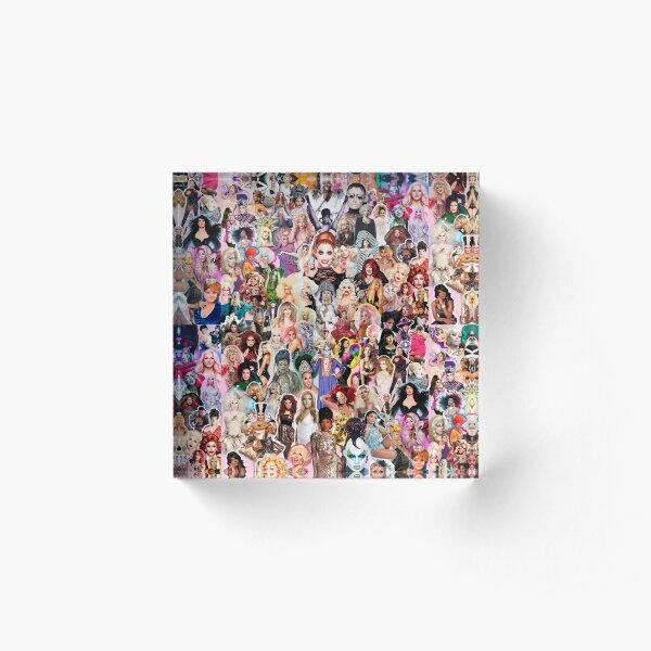 RuPaul Queen Acrylic Block