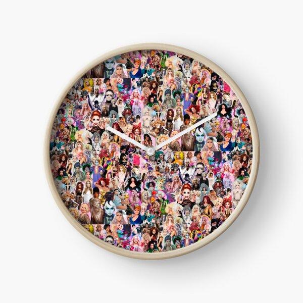 RuPaul Queen Clock