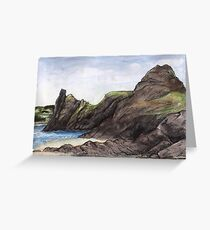 Pobbles Bay Greeting Card