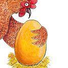 «La gallina de los huevos de oro » de NataDPB