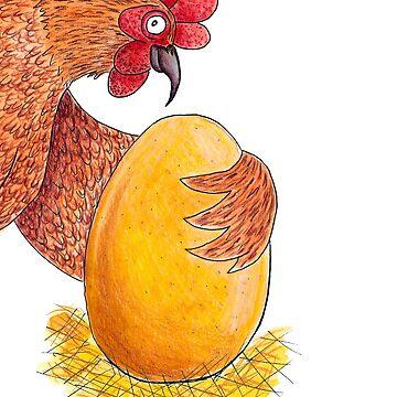 La gallina de los huevos de oro  de NataDPB