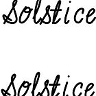 Solstice by FTML