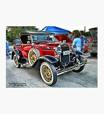 Classic Auto Series # 20 Photographic Print