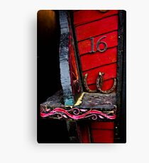 Lucky 16 Canvas Print