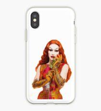 Sasha Velour's Roses iPhone Case