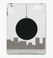 black wrecking ball iPad Case/Skin