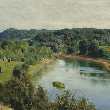 The River Oyat by Vasily Polenov by classicartcache