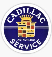 Cadillac Service  Sticker