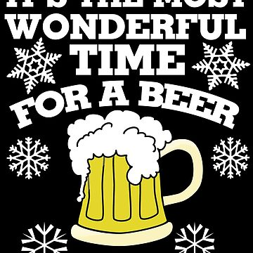 It's the most wonderful time for a beer christmas party by Boogiemonst